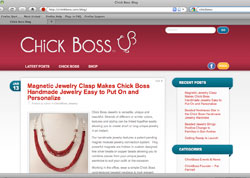 Blog for Chick Boss Jewelry