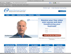 Dream Business Coaching Website