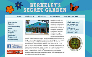 Berkeley WordPress Website